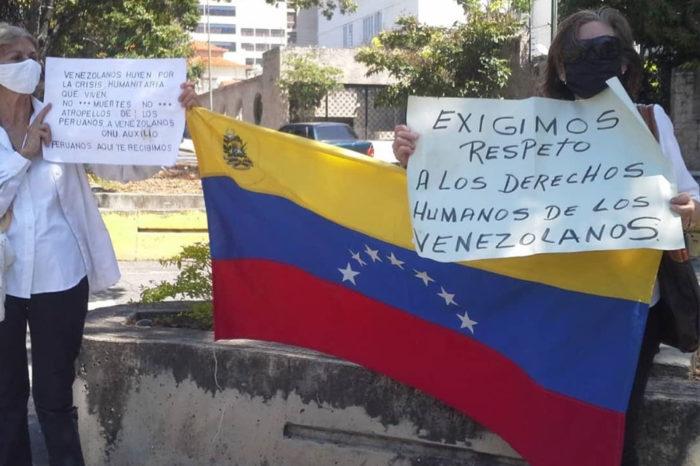 Venezolanos asesinados en Perú