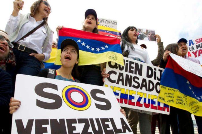 Venezuela manifestantes EEUU Vecchio