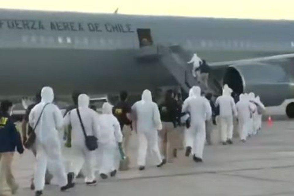 deportados-chile Venezuela