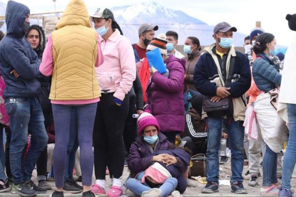 migrantes acnur venezolanos