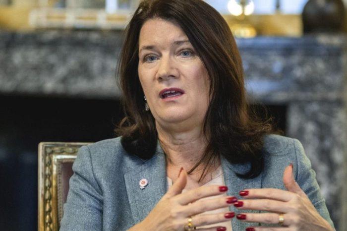 Ministra de Relaciones Exteriores de Suecia