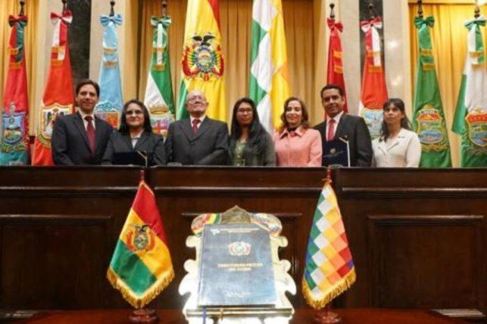 Bolivianos a elecciones