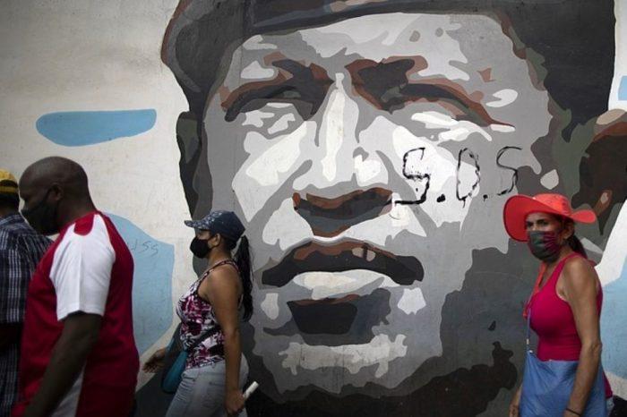 El régimen se acabó Chávez