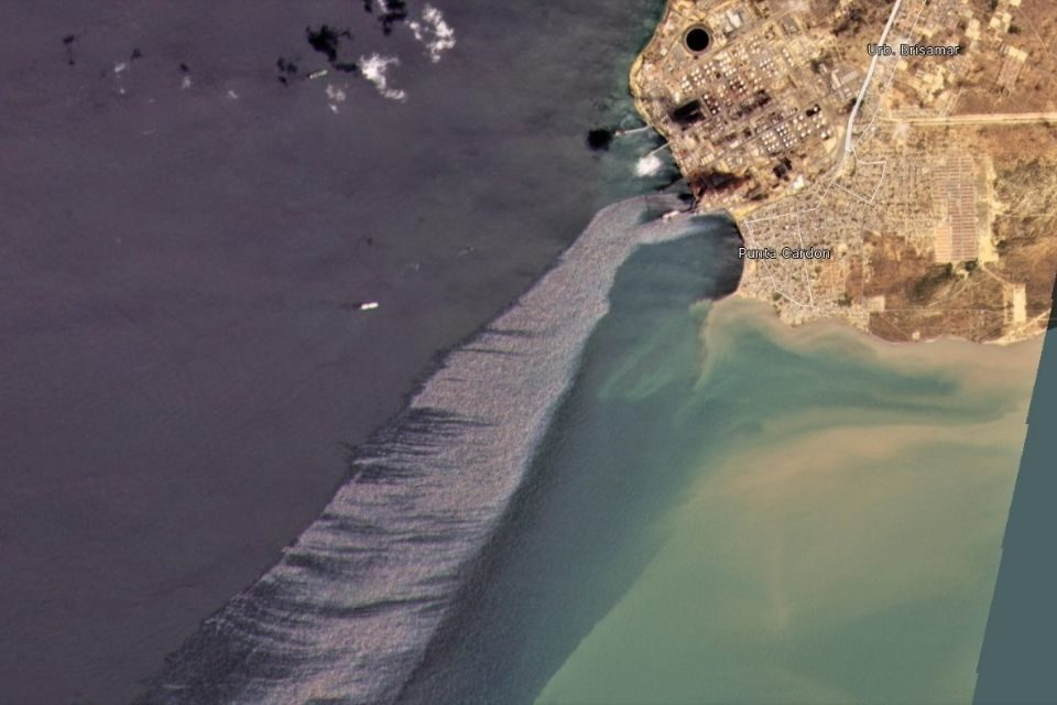 Derrames Pdvsa costa de Falcón