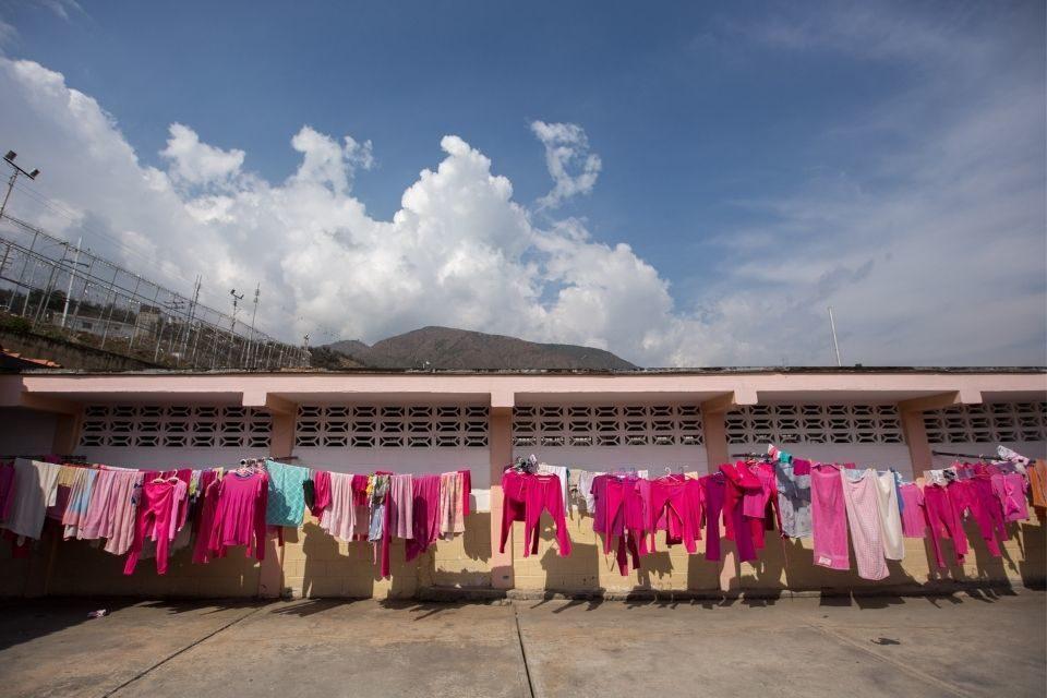 Centros de reclusión para mujeres