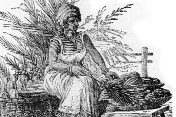 Una mujer aragüeña