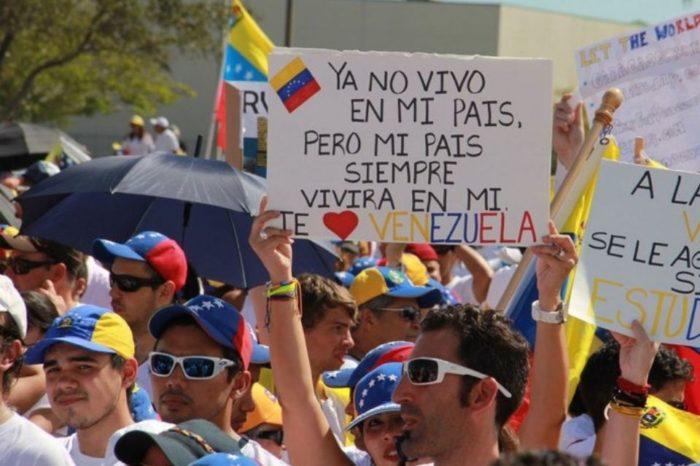 El plato de lentejas exilio venezolano