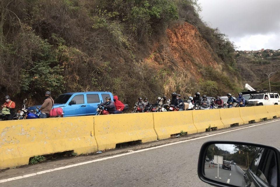 Caracas colapsada