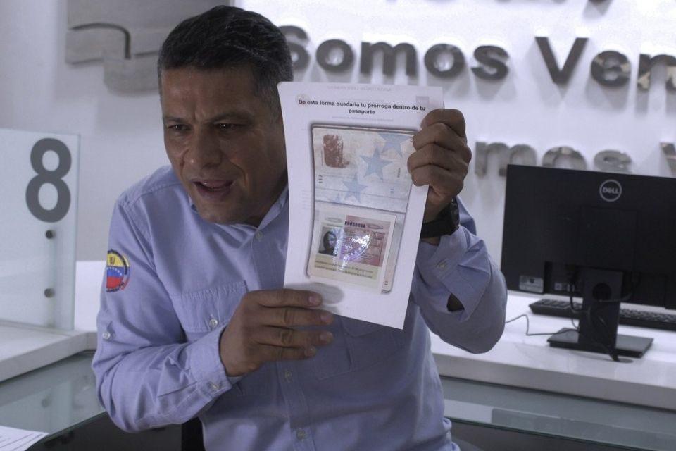 Gustavo Vizcaíno director del Saime
