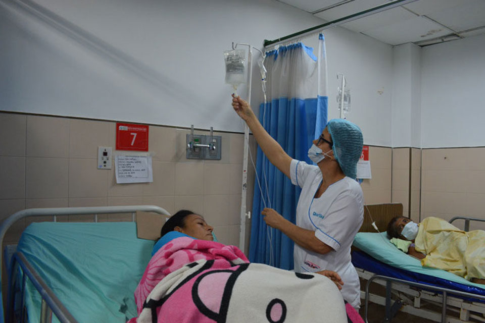 Sector de enfermería expuesto a la covid-19