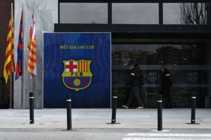 Fútbol Club Barcelona detenciones