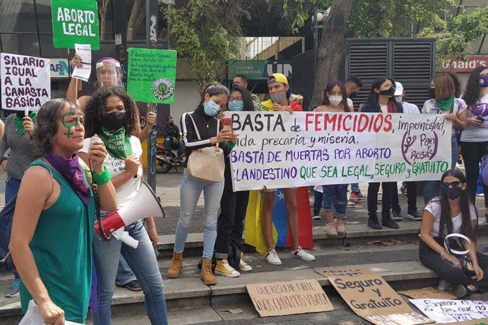 Manifestación feminista por el Día Internacional de la Mujer