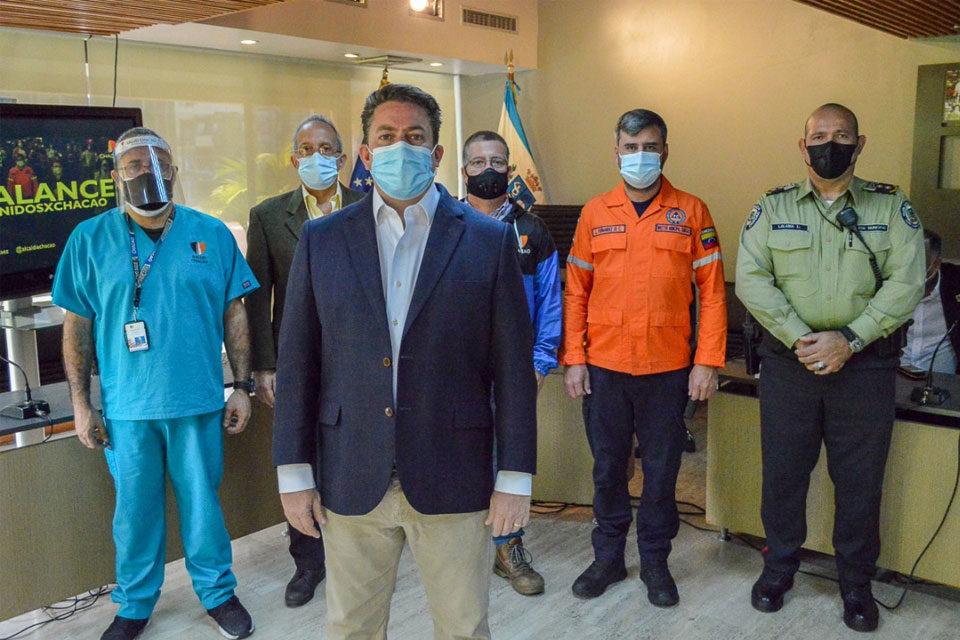 Duque considera sanciones en Chacao