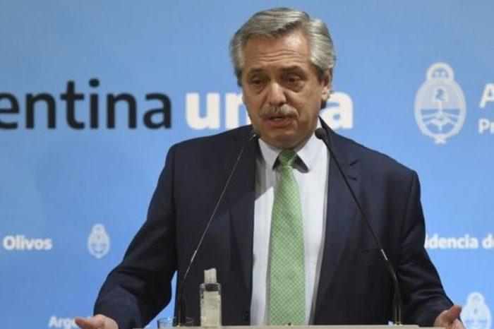 Argentina baila Alberto Fernández