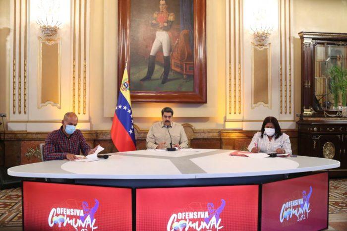 Maduro sobre las ciudades comunales
