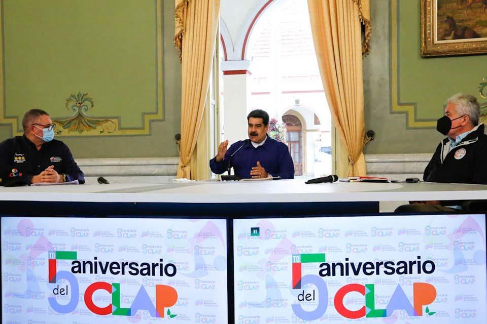 Nicolás Maduro sobre los CLAP