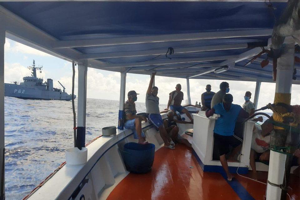 Pesquero venezolano incautado por la Marina de Brasil