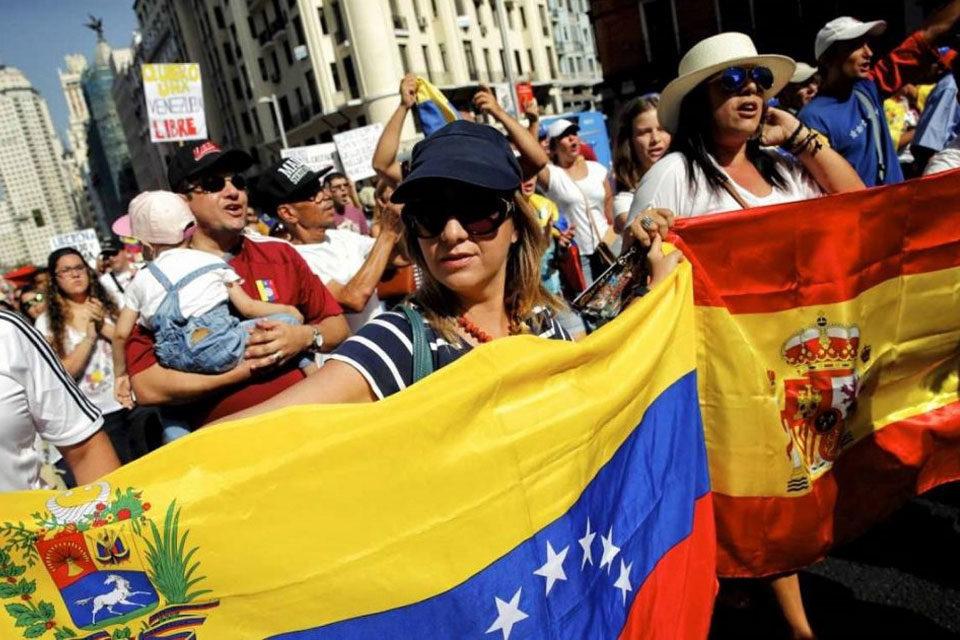 Venezolanos en España Madrid - venezuela migrantes