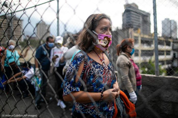 Reporte de covid-19 en Venezuela