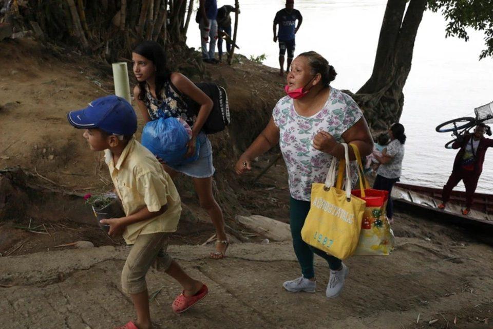 Apure desplazados Arauquita Colombia
