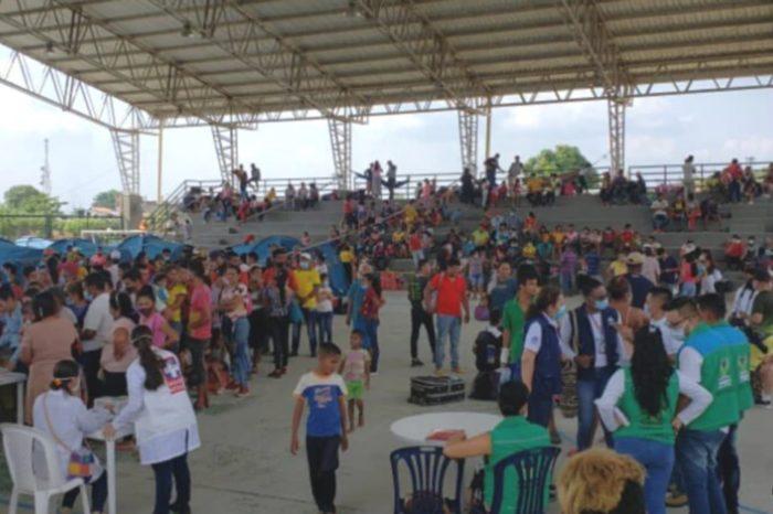 Arauquita VOA Colombia desplazados