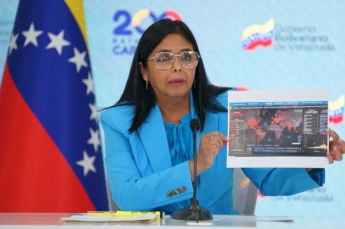 Delcy Rodríguez Cumbre Iberoamericana