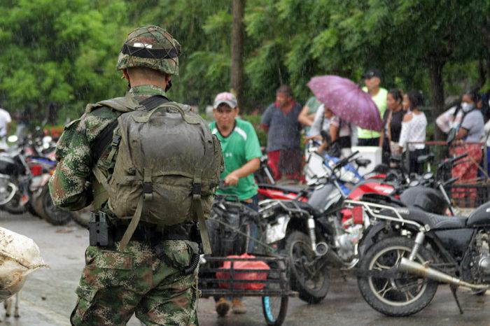 HRW Venezolanos Desplazados por enfrentamiento en Apure