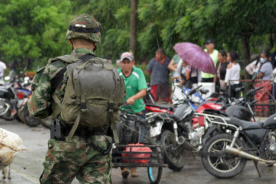 HRW Desplazados por enfrentamiento en Apure