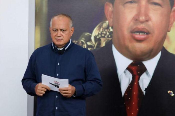 """Diosdado Cabello advierte que periodistas que cubran noticias en Apure serán considerados """"enemigos"""""""
