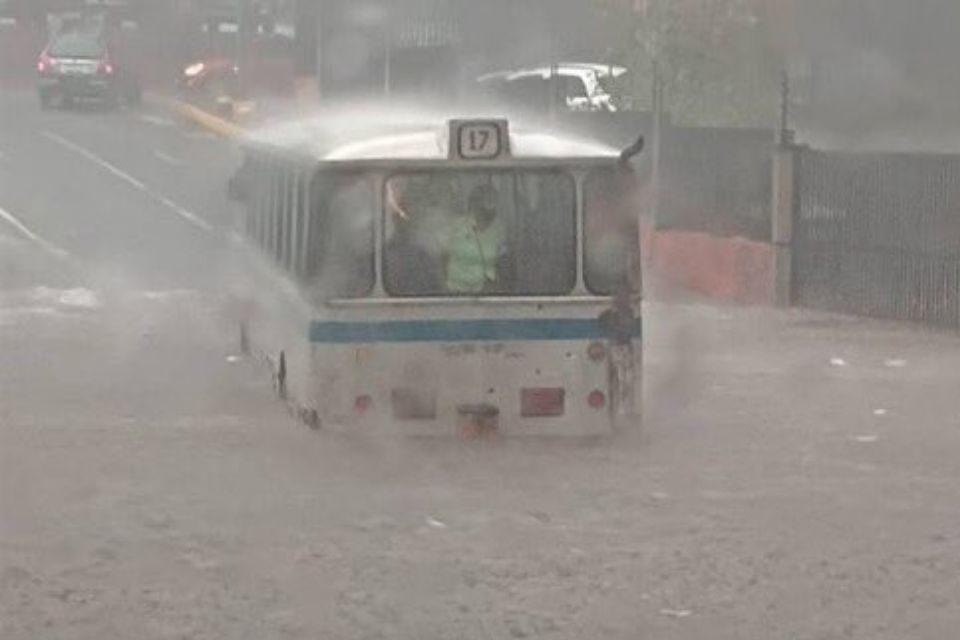 Lluvias en Caracas