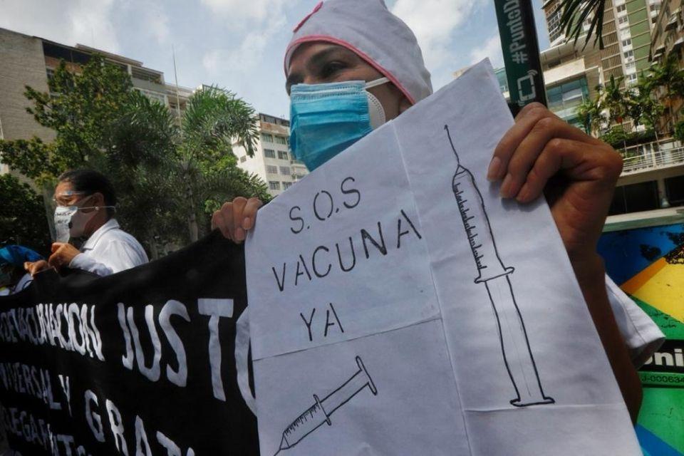 Sector salud exige vacunas