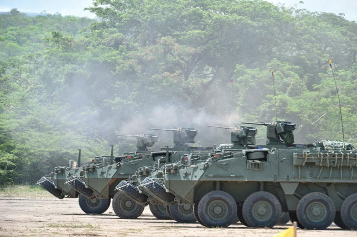 Ejercicios militares en Colombia