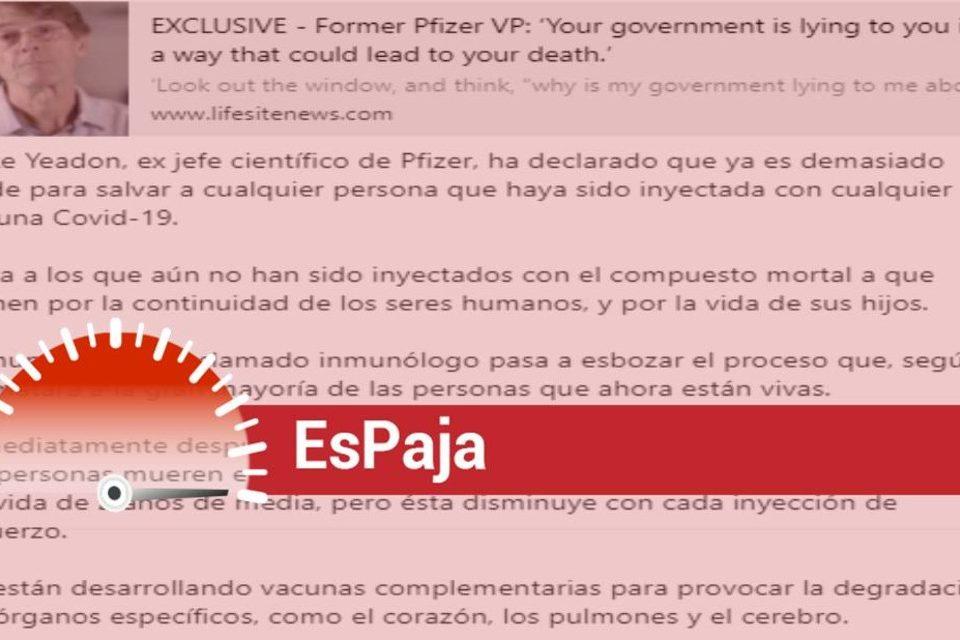 EsPaja pfizer vacunas coronavirus
