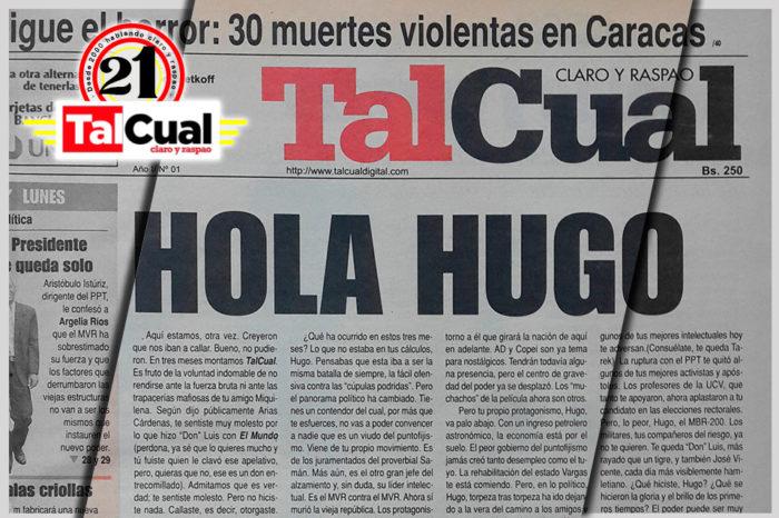 Mientras Chávez iba, Teodoro venía
