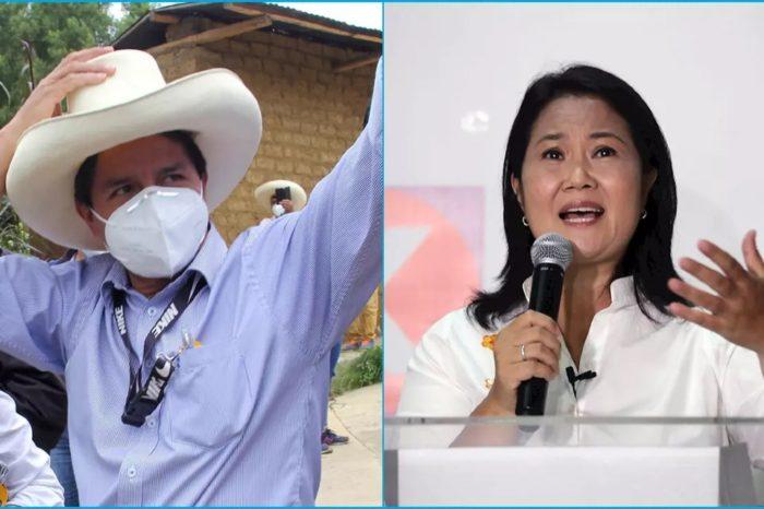 Pedro Castillo Keiko Fujimori ELECCIONES PERU