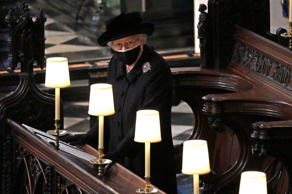 Reina Isabel II funeral Duque de Edimburgo