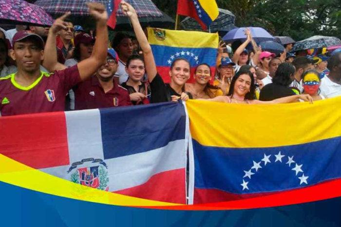 Migrantes venezolanos en El Caribe