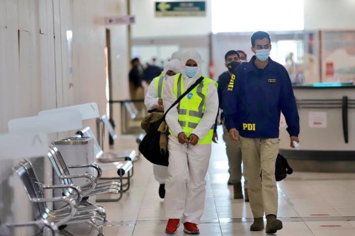 Chile inicia procedimiento de deportaciones y expulsa a 55 venezolanos