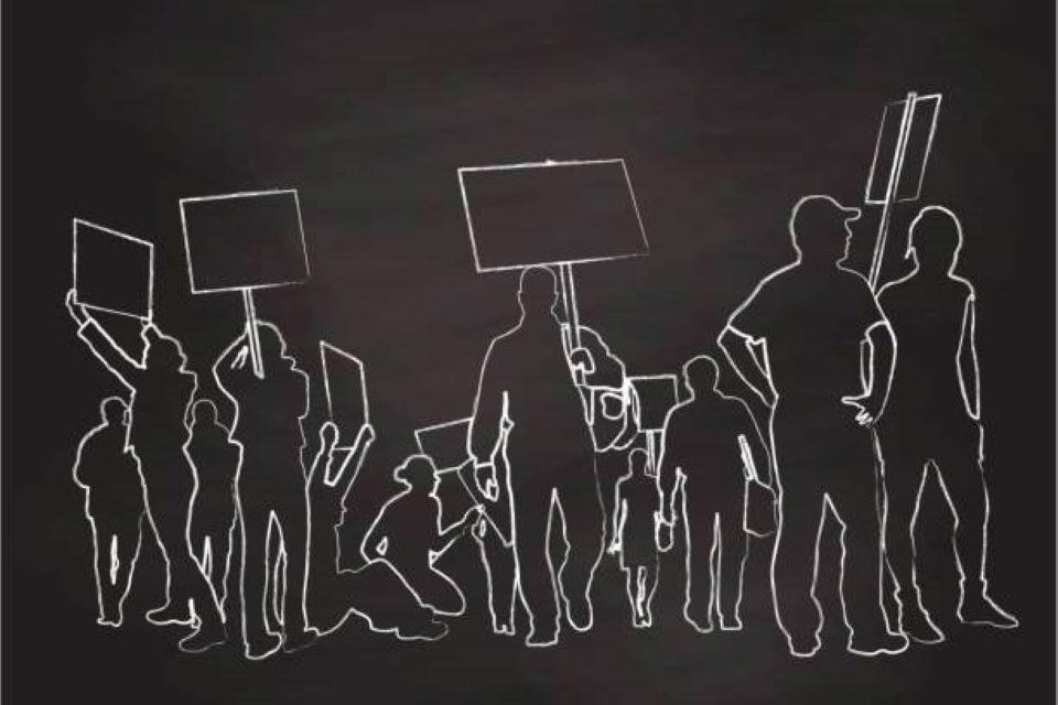 La desobediencia de la sociedad civil