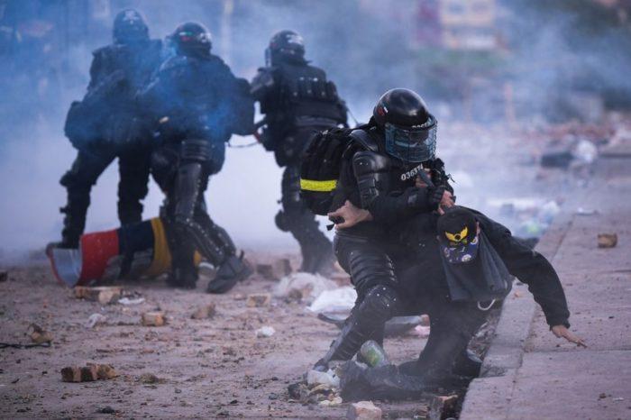 Colombia protestas El Espectador Bogota 26.05.2021