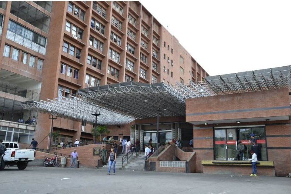 Hospital de Anzoátegui . personal de salud