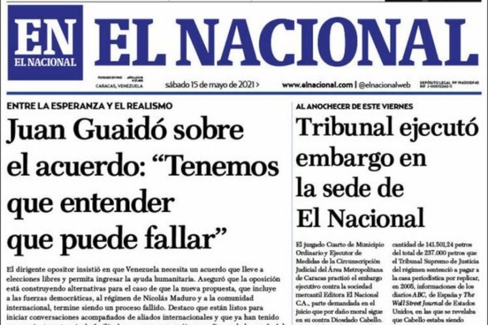 El asesinato de El Nacional