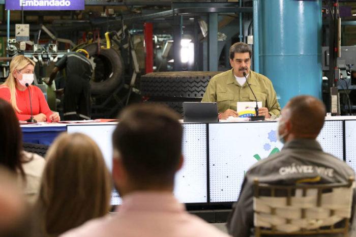 Maduro presenta cifras sobre las Pymes