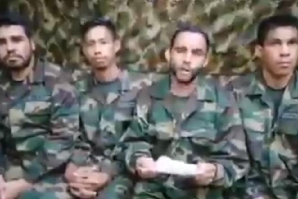 Militares secuestrados FARC