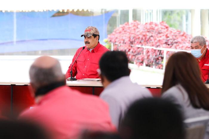 Maduro en reunión con la juventud del PSUV