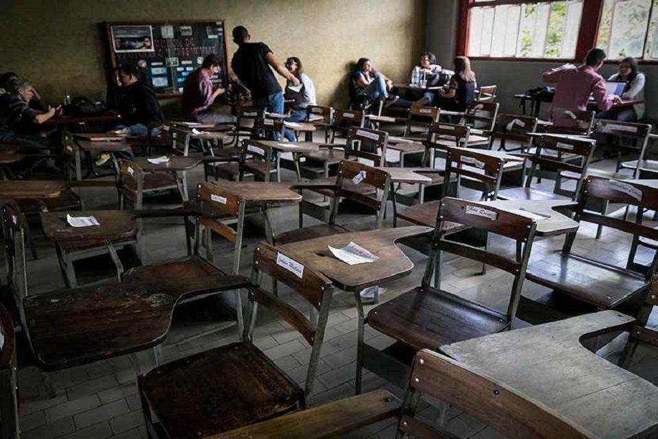 PUPITRES UNIVERSIDAD profesores