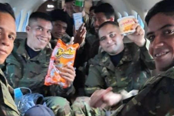 Soldados liberados FAn FARC