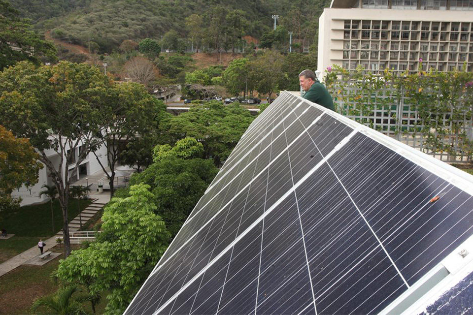 UCAB aula energía sustentable