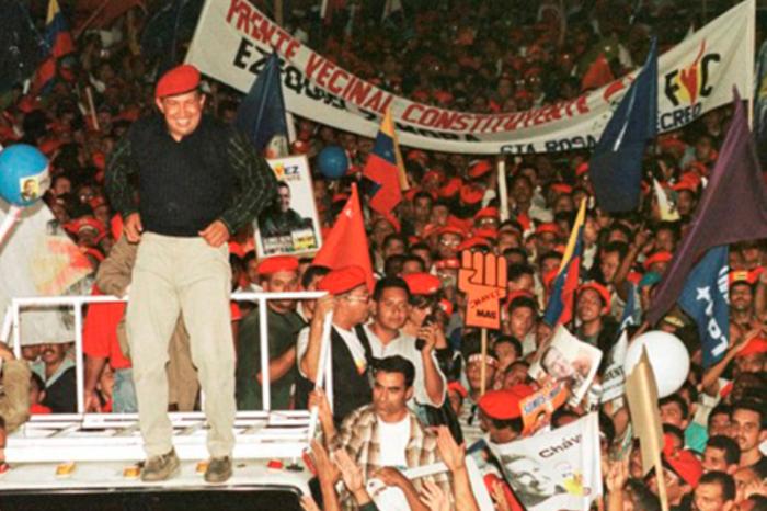 Las élites bobas Chávez