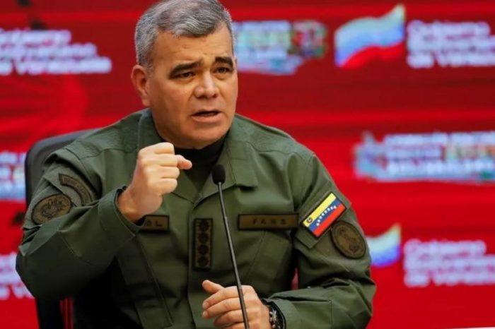 la frontera con Colombia Padrino López
